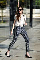 Polka Dot Pants with Braces