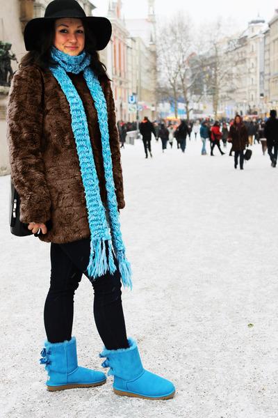bailey bow Ugg Australia boots - faux fur zalando coat