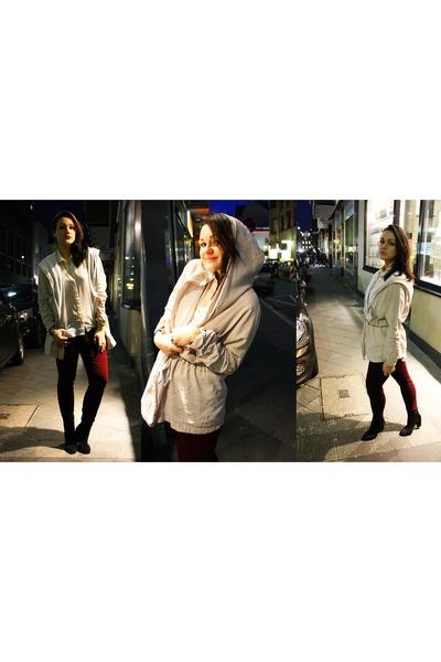 terminal d coat - H&M boots - Zara jeans