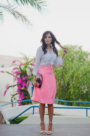bubble gum iclothing skirt