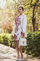 white lightinthebox dress - white lightinthebox coat
