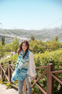 Sky-blue-celia-gould-scarf-white-chicwish-blouse