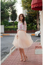 Cream-alexandra-grecco-skirt