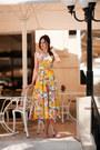 Light-yellow-asos-dress