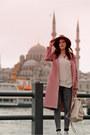 Pink-romwe-coat
