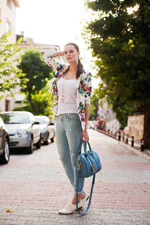 blue m2f jeans - sky blue PERSUNMALL bag