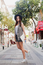 heather gray Chicwish suit