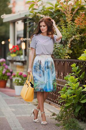 sky blue wholesalebuying skirt - white wholesalebuying skirt