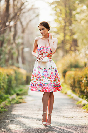 white Chi Chi London dress