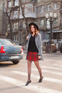 Black-sheinside-coat-red-asos-skirt