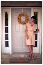 neutral Twelfth By Cynthia Vincent dress - neutral Steve Madden shoes