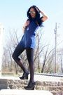 Black-topshopop-jacket-black-h-m-stockings-blue-forever-21-black-hale-bob-