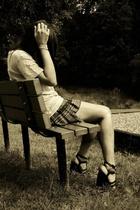 f21 shirt - Hot Topic skirt