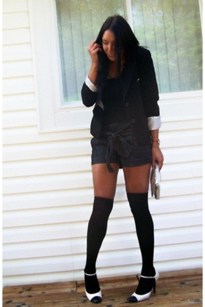 forever 21 blazer - accessories - Michael shoes - Boom Boom shorts