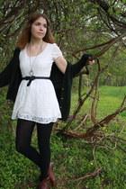 white Forever 21 dress