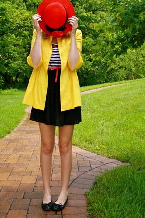 striped handmade dress