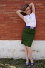 Vintage-skirt-aldo-shoes-vintage-belt