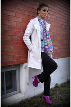 le chateau coat - trifted scarf - Aldo shoes