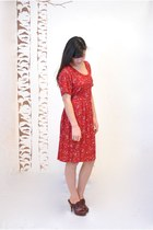 Ruby Red Vintage Dresses