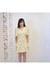 light yellow vintage dress