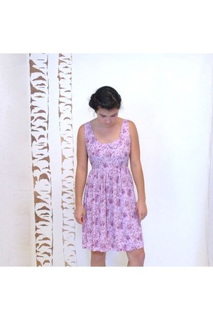 amethyst Peter Pan Collar Babydoll Dress dress