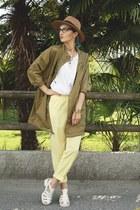 casio watch - Zara jacket - Freyrs glasses - new look sandals