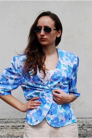 sky blue Vintaholic blazer