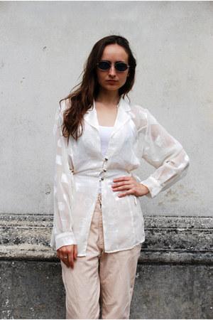 white Vintaholic blouse