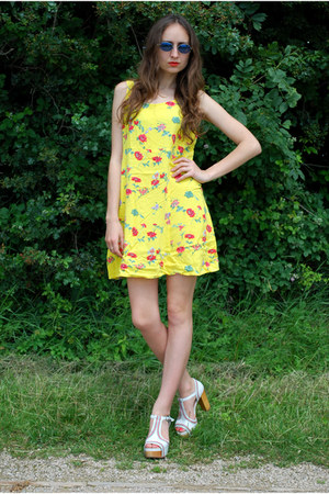 yellow Vintaholic dress