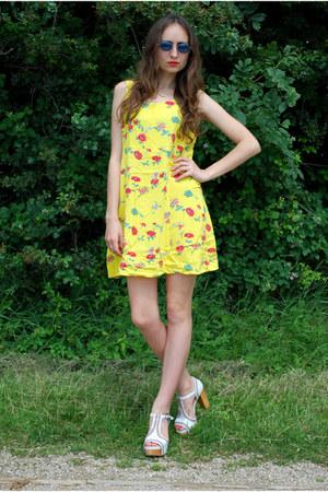 yellow Vintaholic dress