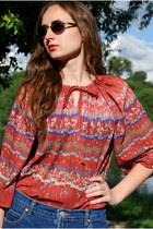 Coral-vintaholic-blouse