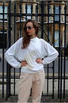 White-vintaholic-jumper