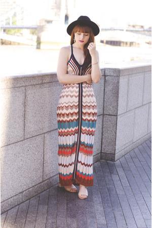 orange River Island dress