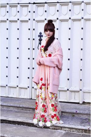 bubble gum Dezzal dress