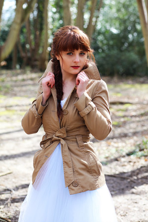 brown brown Vero Moda coat