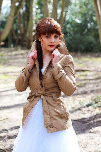 brown brown Vero Moda coat