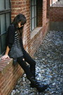 Black-anouk-boots-black-forever-21-jeans