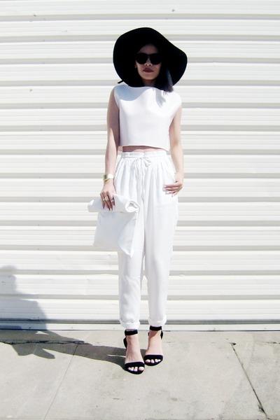 white Choies bag