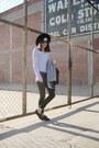 Heather-gray-romwe-coat-black-mya-zip-moto-articles-of-society-jeans