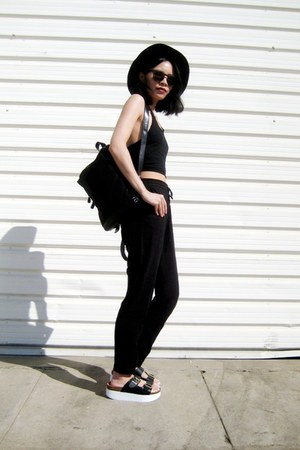 black BangGood vest - black BangGood pants