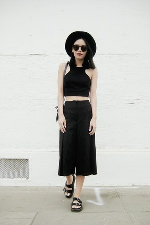 black blackfive bag - black blackfive pants