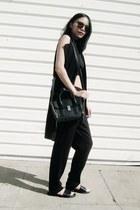 black OASAP vest