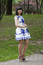 blue PERSUNMALL dress