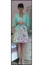 Light-blue-diy-dress-aquamarine-h-m-jacket-eggshell-mixer-pumps