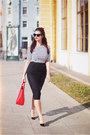 Red-rebecca-minkoff-bag-black-asos-sunglasses-black-aldo-heels