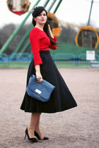 Miu Miu skirt - Zara shoes - Zara hat