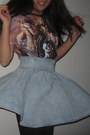 Brick-red-harry-potter-t-shirt-sky-blue-h-m-skirt-black-stockings