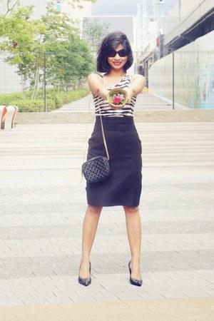 black Mango skirt