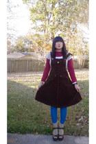 SoundGirl jumper - Delias top - Anxiety Cafe sweater - Ralph Lauren leggings - T