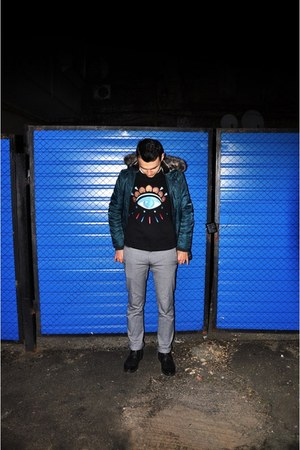 Topman jacket - Kenzo sweatshirt